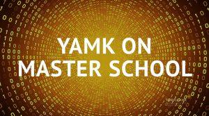 Kuvassa Master School -teksti