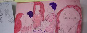 Piirroskuva ihmishahmoista