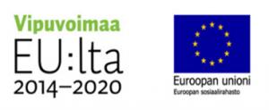Vipuvoimaa ja EU -logot